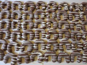 Schokoladekipferl-Foto
