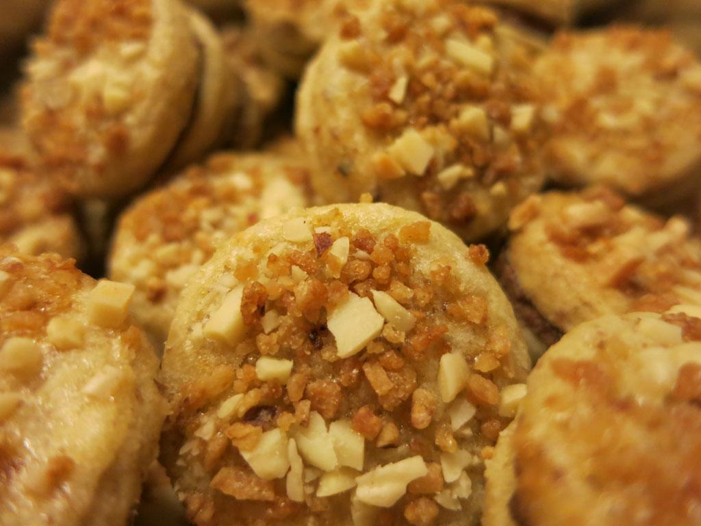 Mandel Krokant Kekse Rezept
