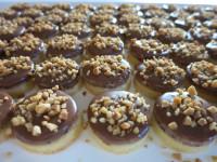 Schokolade Krokant Kekse