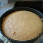 Tortenboden gebacken