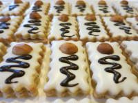 Schoko Himbeer Kekse