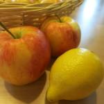 Apfelstrudel ausgezogen